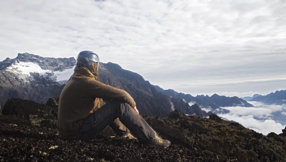 Alessandro Vaio on the mountains