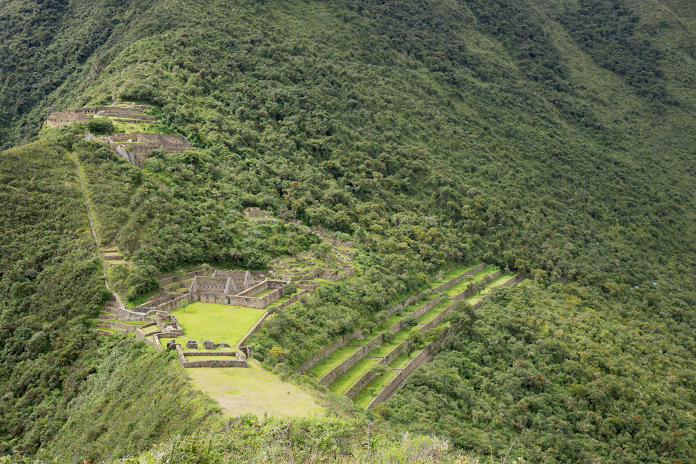 Inca lost city of Choquequirao
